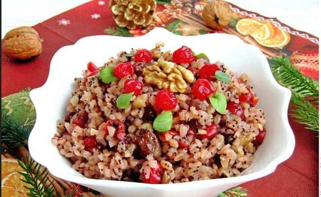Сочиво из риса на Рождество – современный рецепт