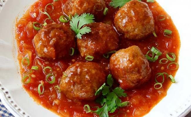 фрикадельки готовые в томатном соусе