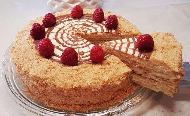 торт без выпечки из 3 ингредиентов