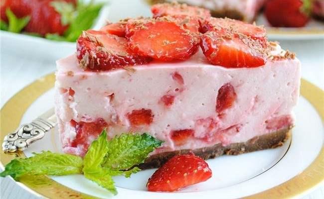 торт - мороженное без выпечки