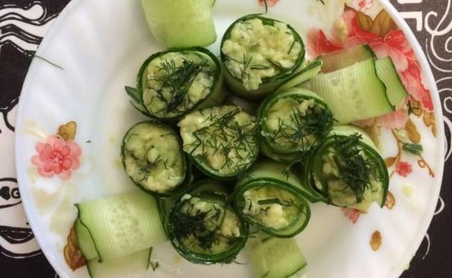 Роллы из огурца с авокадо – рецепт для правильного питания