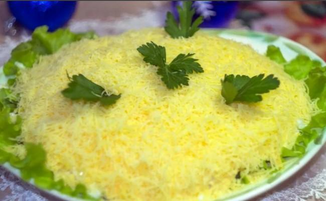 Салат «Мужской каприз» - классический рецепт с курицей