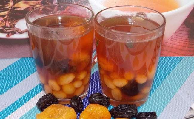 Как сварить компот из кураги и чернослива – самый простой рецепт