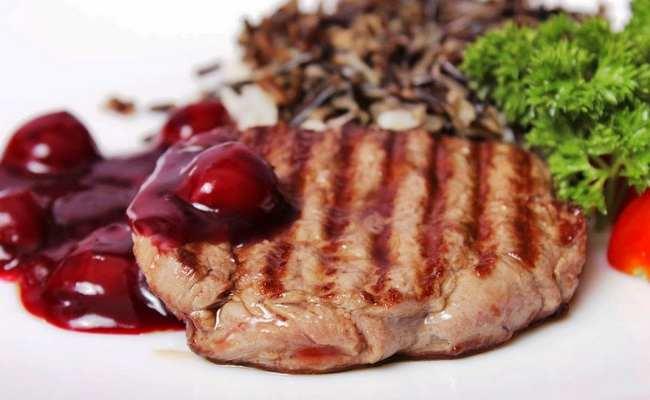 ежевичный соус к мясу