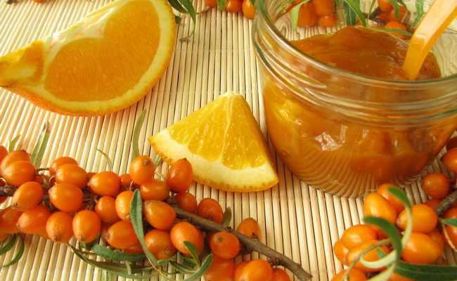 облепиха с апельсинами варенье