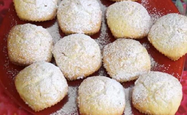 Творожные кексы с яблоками на сметане – изумительно вкусные