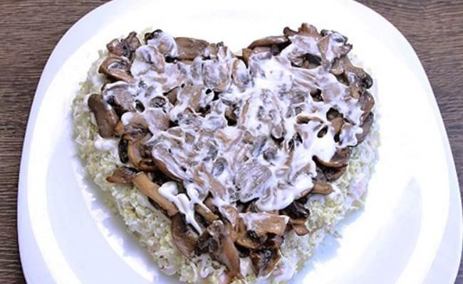 четвёртый слой - грибы