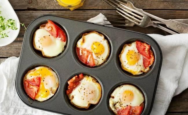 Сердечки из куриных яиц – вкусная и воздушная выпечка