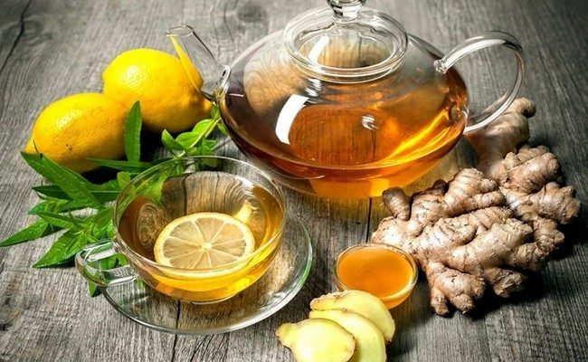 Лучшие рецепты чая с лимоном