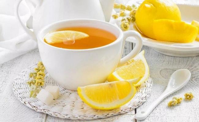 Классический рецепт чая с лимоном
