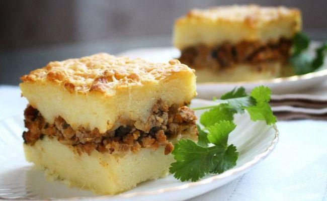 Запеканка с картофельным пюре и фаршем в духовке – самый правильный рецепт