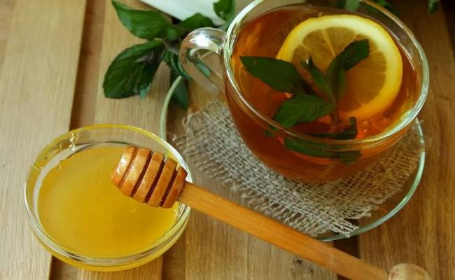 Вкусный рецепт с мятой и мёдом