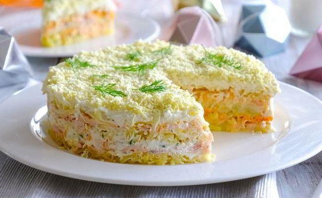 Как готовить классический салат «Мимозу»