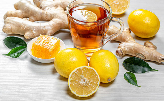 Имбирный чай с лимоном – для тех, кто мечтает сбросить лишний вес