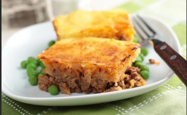 Картофельная запеканка с фаршем в духовке – классический рецепт с фото