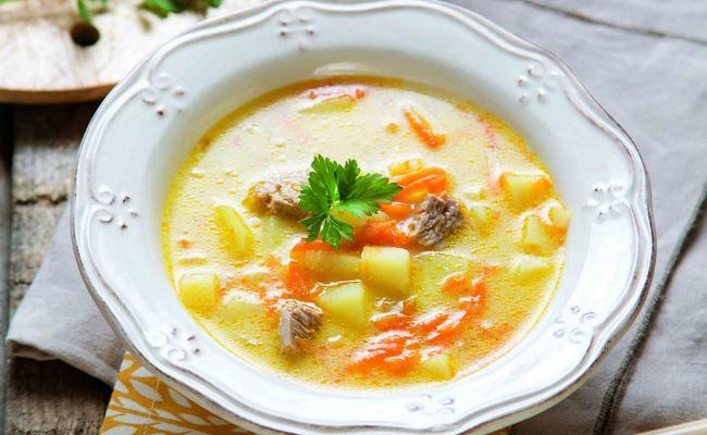 Суп из индейки и риса для ребёнка, которому уже есть годик