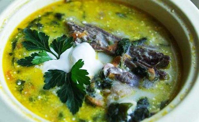 Как приготовить крапивный суп с мясом и яйцом –