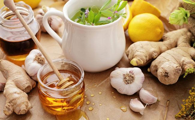 Чай с имбирём и чесноком для стройности – пошаговый рецепт