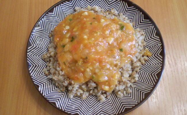 Подлива для гречки на соевом соусе