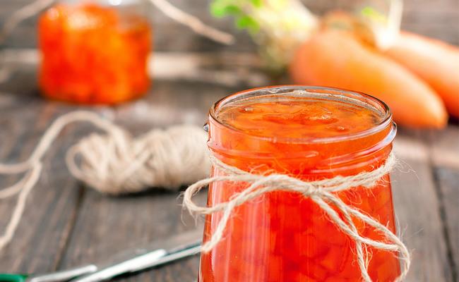 Морковное варенье с апельсином (плюс 1 лимон)