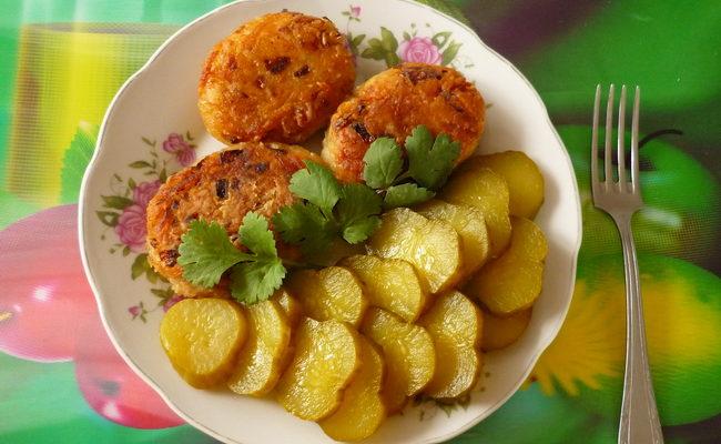Готовим с манкой и картофелем