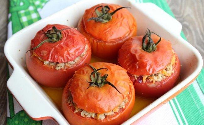 Рецепт приготовления фаршированных помидор с креветками в духовке – оригинальный рецепт на праздничный стол