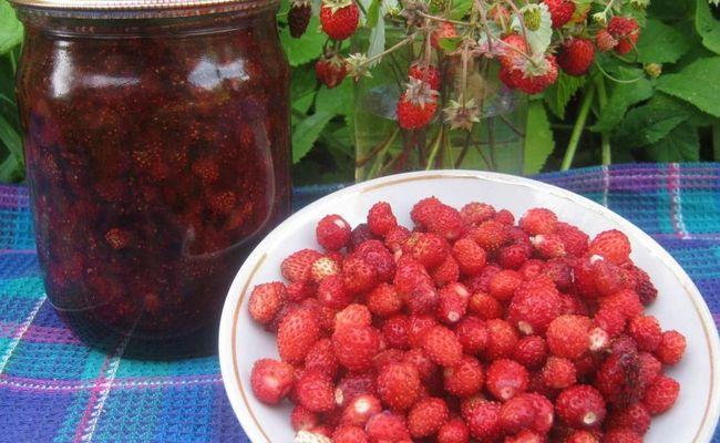 Варенье из лесной земляники с мятой «Мятный микс» - вкусный и полезный рецепт