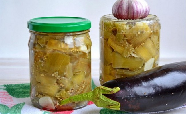 Готовим баклажаны как опята на зиму – быстро и вкусно