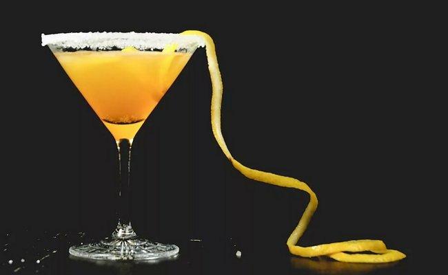 Коктейль на основе апельсинового сока