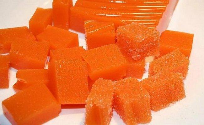 Мармелад из моркови с апельсином и корицей