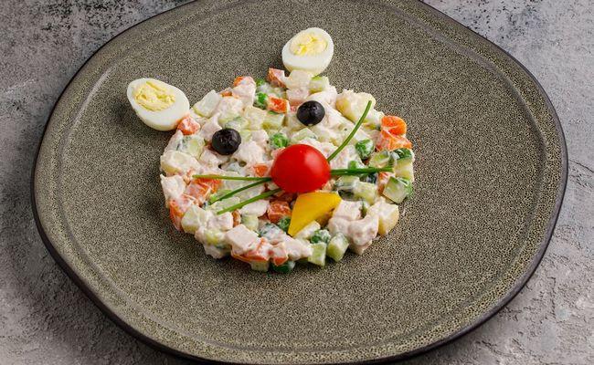 салат оливье для детей