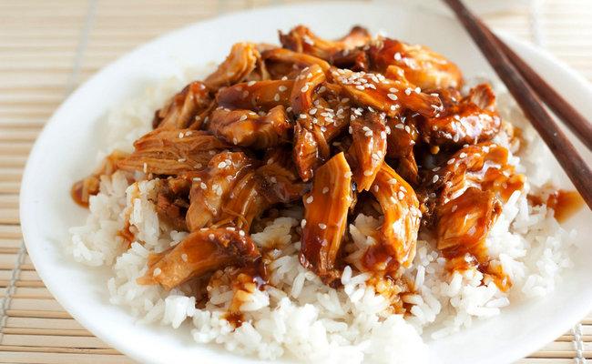 Курица терияки с рисом в мультиварке – самый простой рецепт
