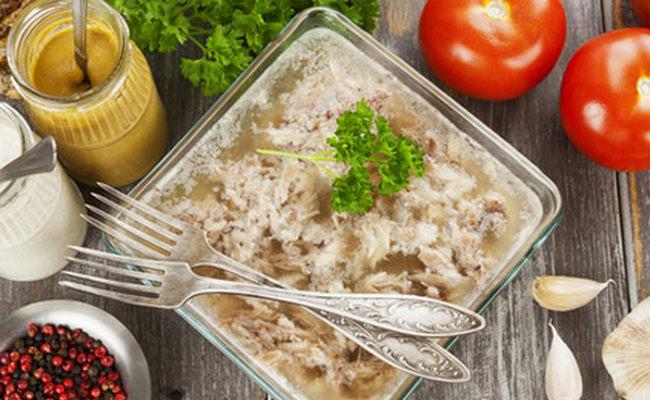 Холодец из свиных ножек – классический рецепт пошагово