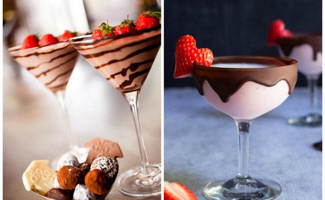 Шоколадно-клубничное лакомство
