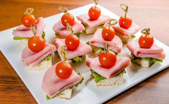 Бутерброды для фуршета – простые и вкусные рецепты