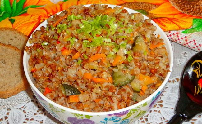 Гречневая каша с овощами – готовим по постному рецепту в мультиварке