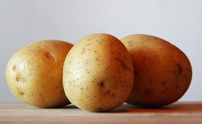 картофель почистить порезать