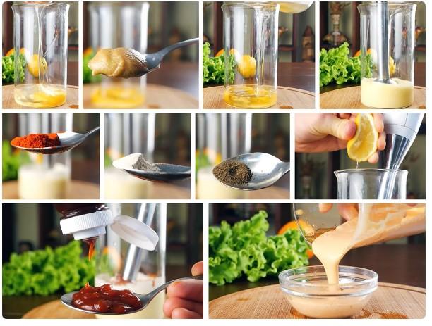 готовим соус для биг тейсти