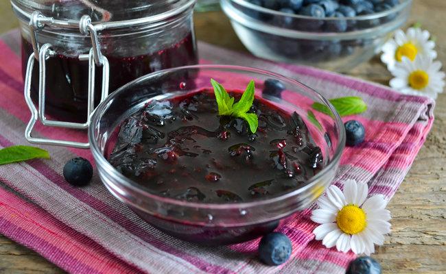 Варенье из черники Пятиминутка – классический рецепт на зиму