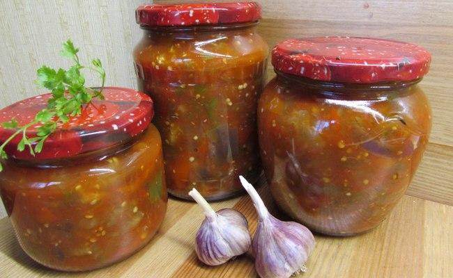 Самое вкусное лечо из болгарского перца с добавлением баклажан «Пальчики оближешь»