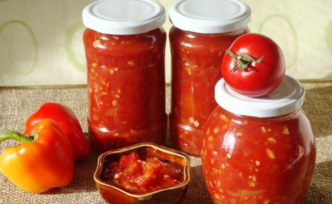 Рецепт лечо из болгарского перца и помидор на зиму Пальчики оближешь