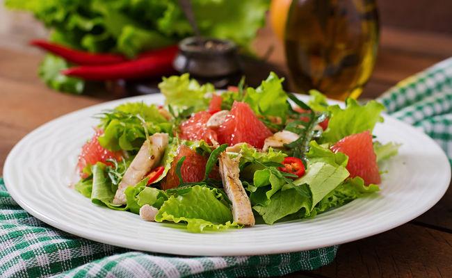 Пряный соус из грейпфрута для салата – идеальное сочетание продуктов