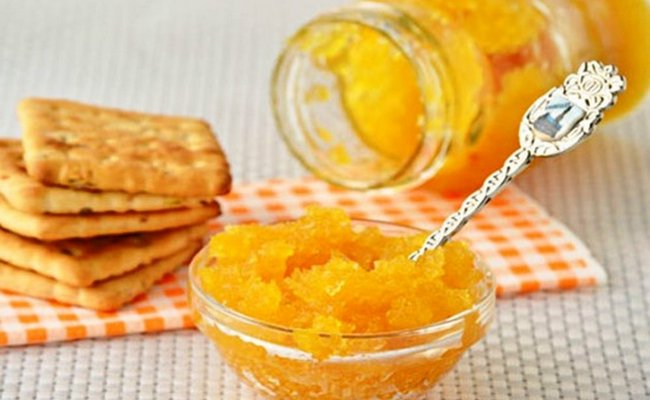 Повидло из кабачков с лимоном и апельсином на зиму – рецепт с фото