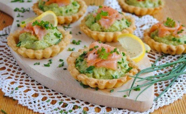 Вкусные и полезные тарталетки с авокадо