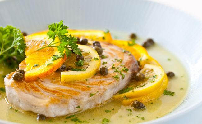 лимонный соус к рыбе