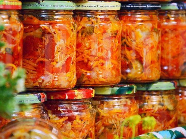 «Парамониха» на зиму с капустой – самый вкусный салат
