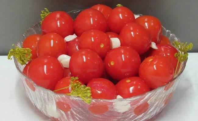 Томаты черри в розовой заливке – необычный рецепт маринования любимых помидор
