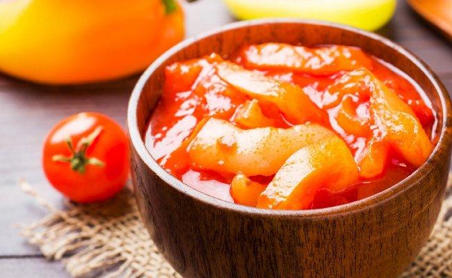 Простое лечо на 5 кг перца с помидорами без масла на зиму