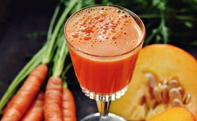 Простой домашний рецепт тыквенно-морковного сока по шагам