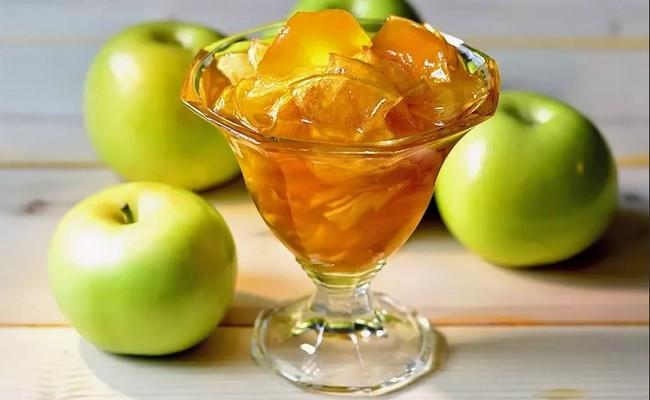 Варенье из неспелых яблок на зиму